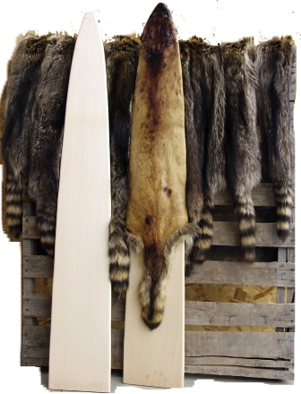 Raccoon Wooden Stretcher Boards wsb01